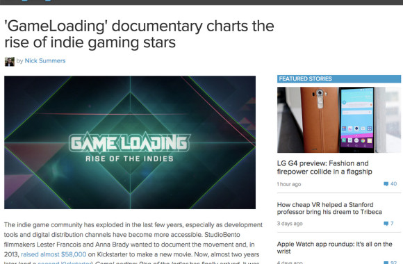 Engadget GameLoading