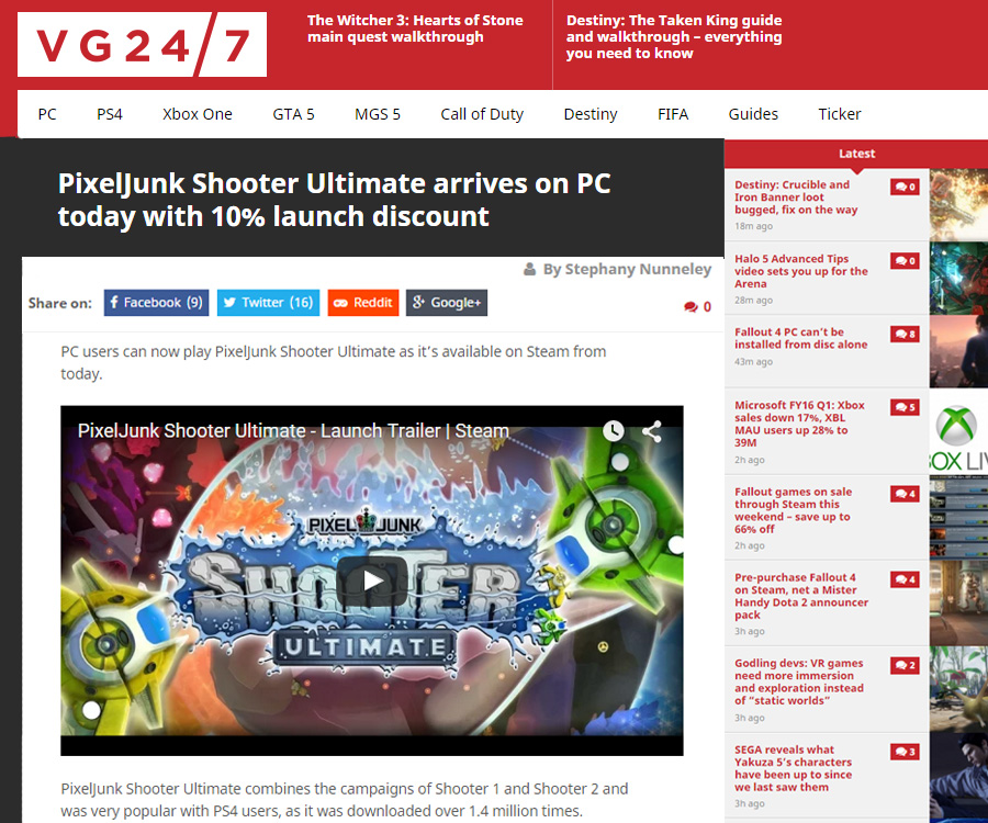 IGN Front Page 10-22