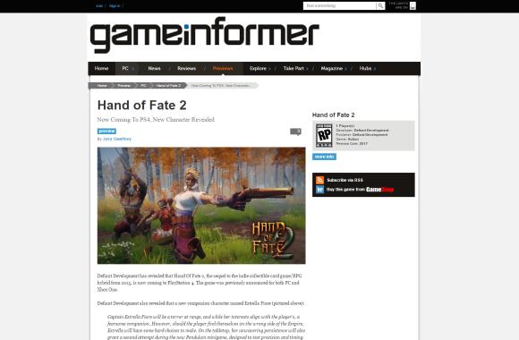 GameInformer HOF2