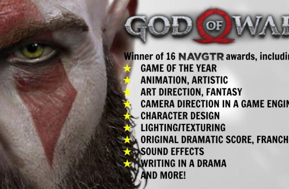 God of War NAVGTR awards