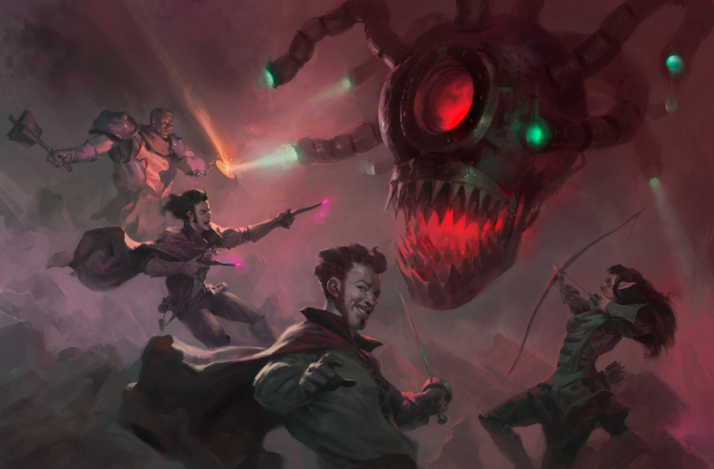 A Mechanical Beholder Bonanza by Tyler Jacobson