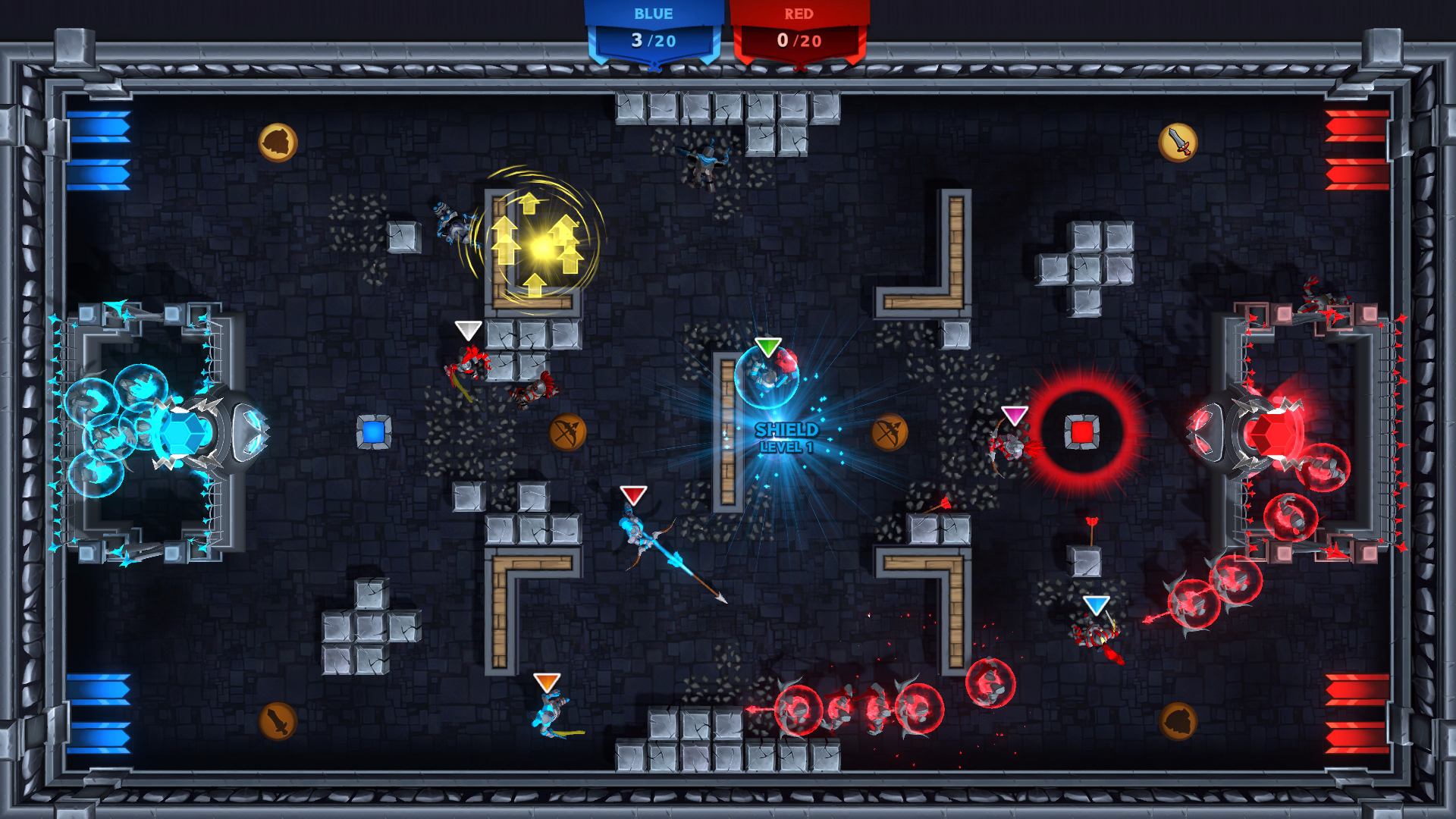 knight squad 2 screenshot - protect your minions