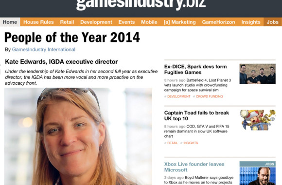 People of the Year IGDA blog