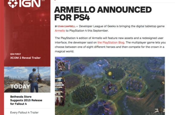 IGN Armello