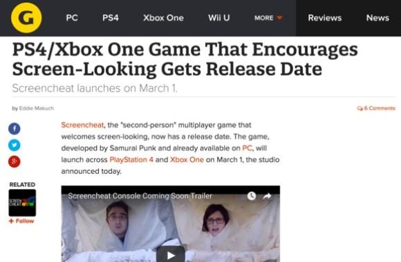 Gamespot Screencheat image