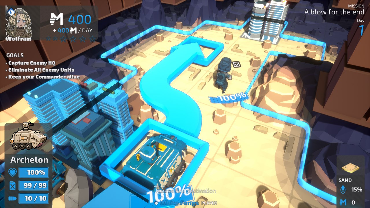 tiny metal full metal rumble battle screenshot
