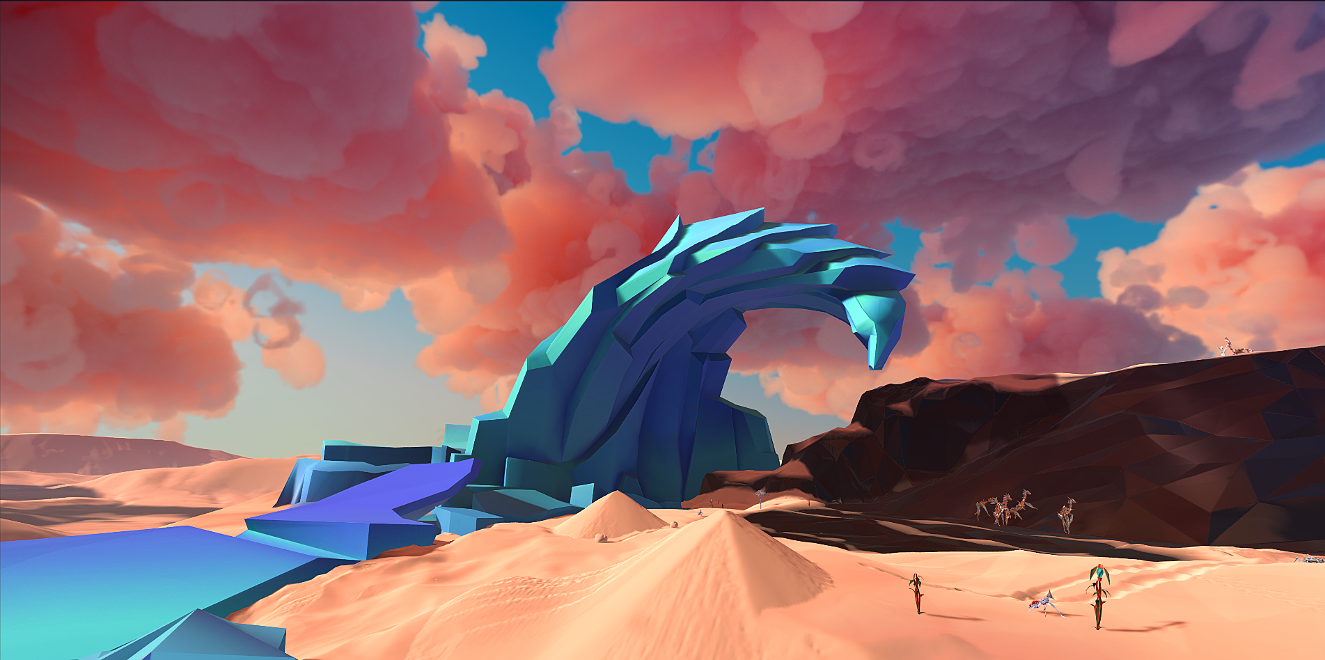 paper beast, eric chahi, another world, psvr, sony, ps4, playstation 4, upload vr, vr