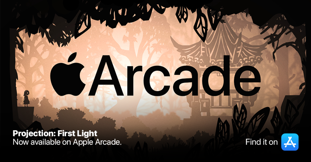 Projection First Light Apple Arcade Logo