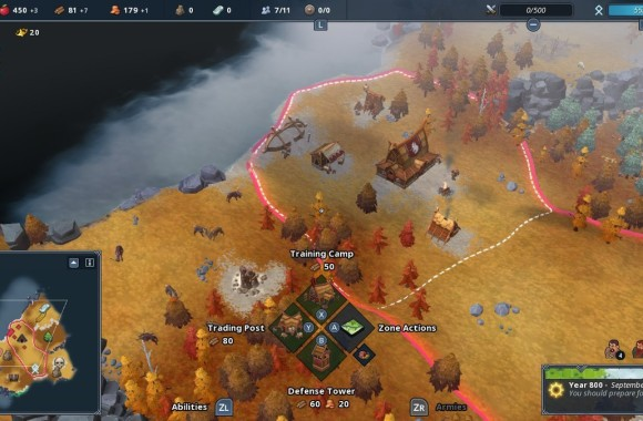 Northgard-gameplay