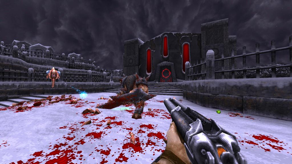 wrath, aeon of ruin, steam early access, quake, shooter, retro, ps4, playstation, steam, windows, pc gaming, xbox