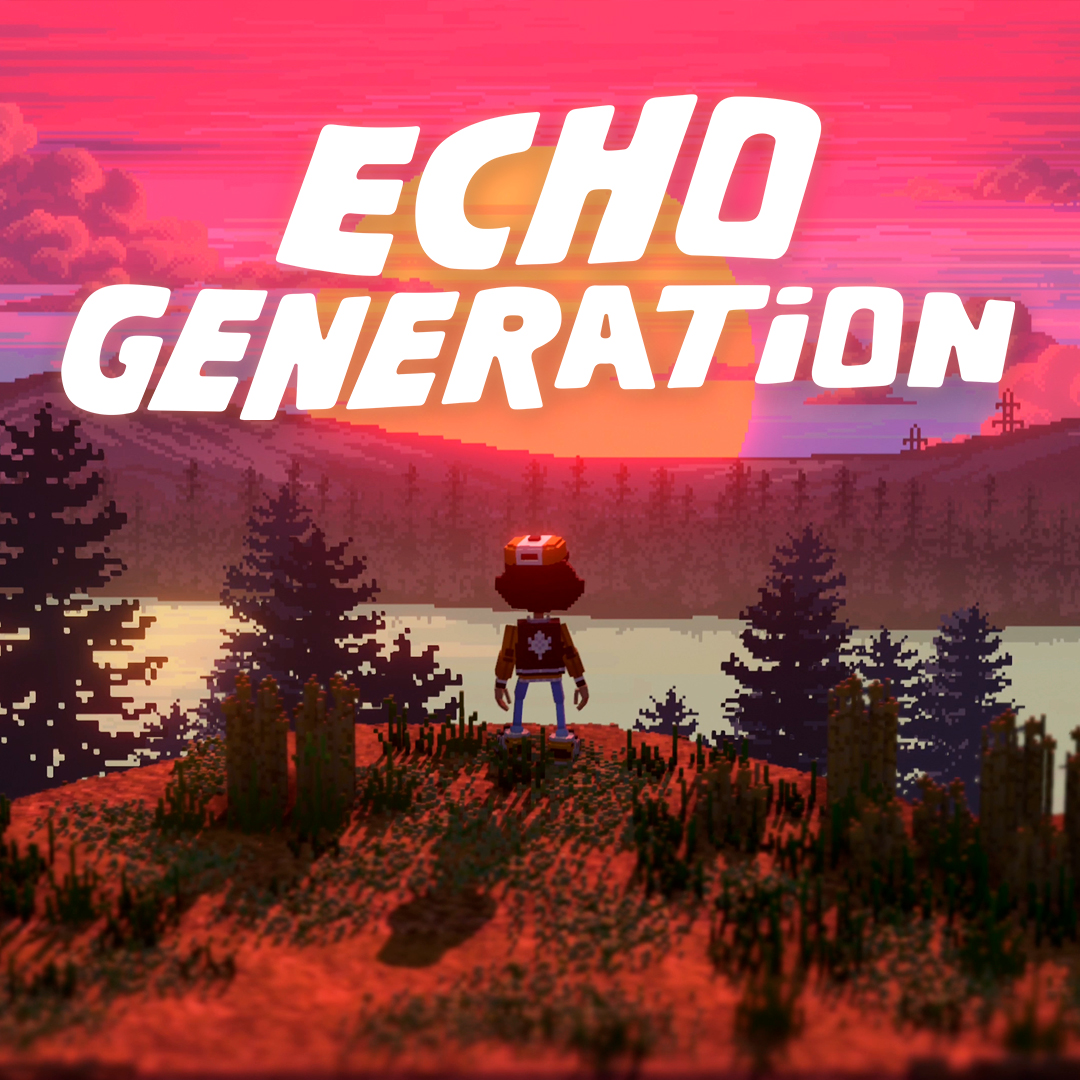 echo generation key art