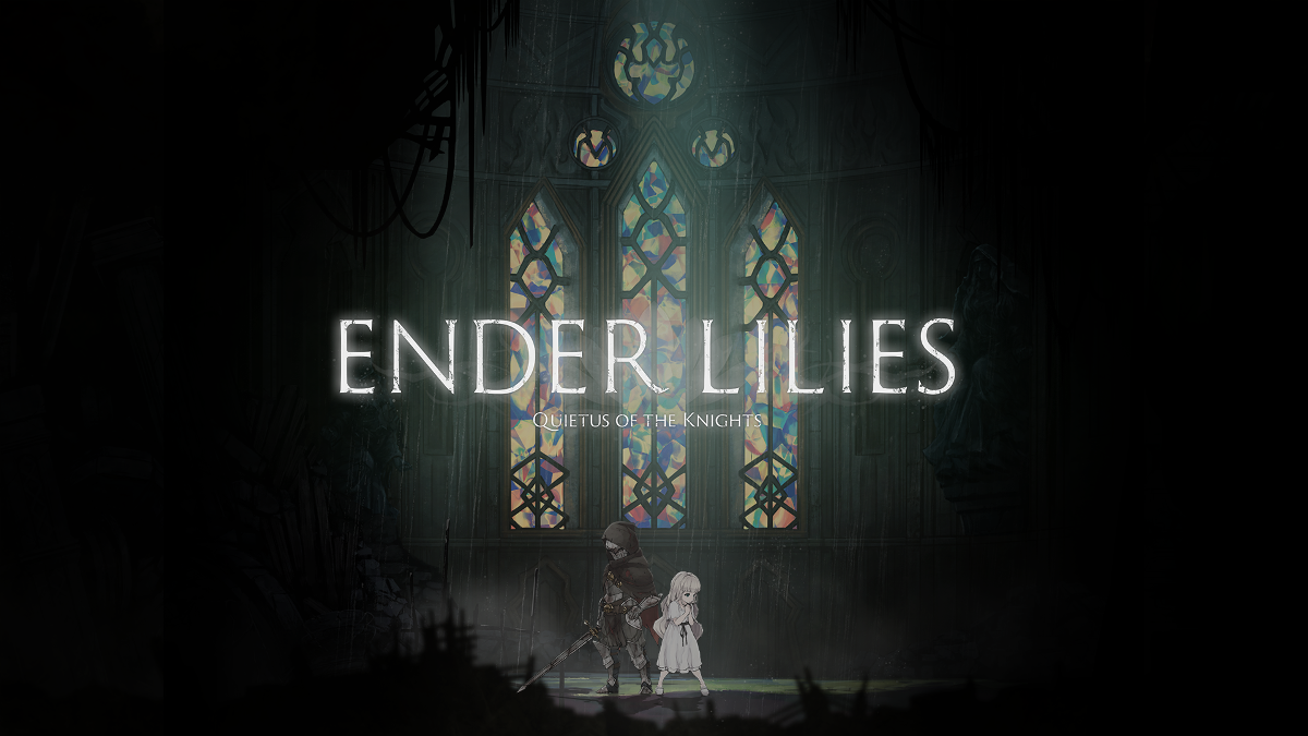ENDER LILIES: Quietus of the Knights key art with logo