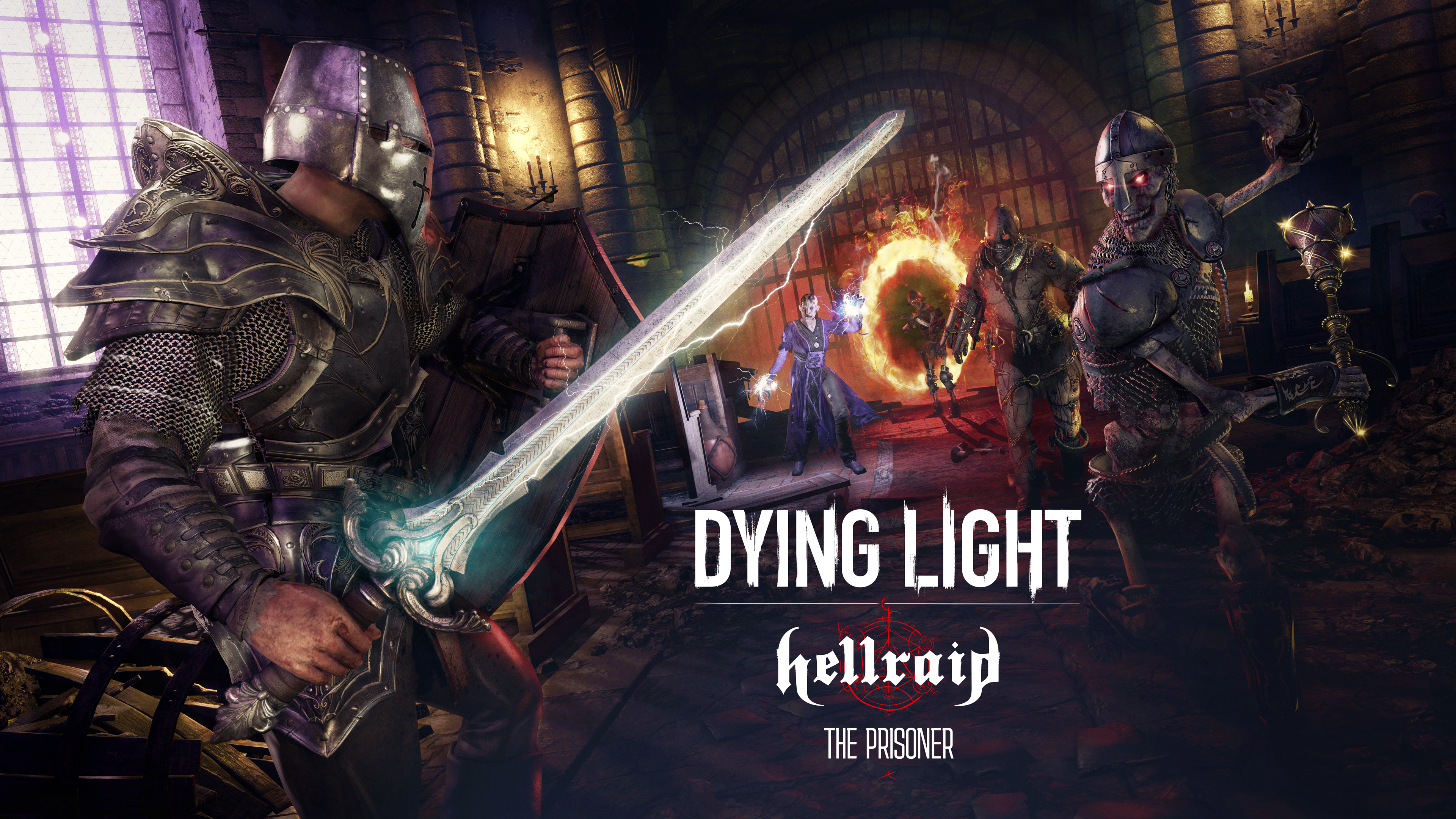dying light, hellraid, expansion, dlc, update, story mode, techland, medieval, zombie, pc, slasher, xbox, xbox one, pc, playstation 4, ps4, sony, microsoft